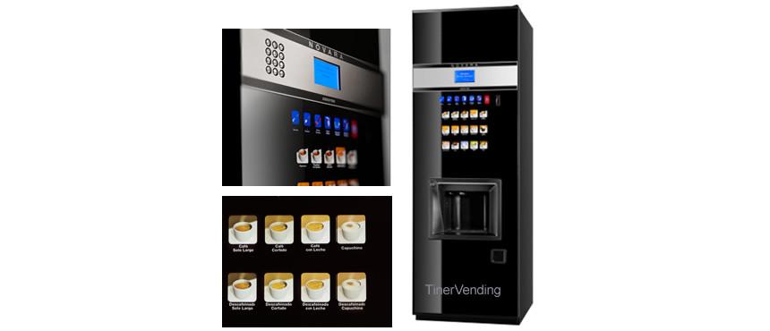 Máquina expendedora de bebidas calientes AZKOYEN modelo Novara