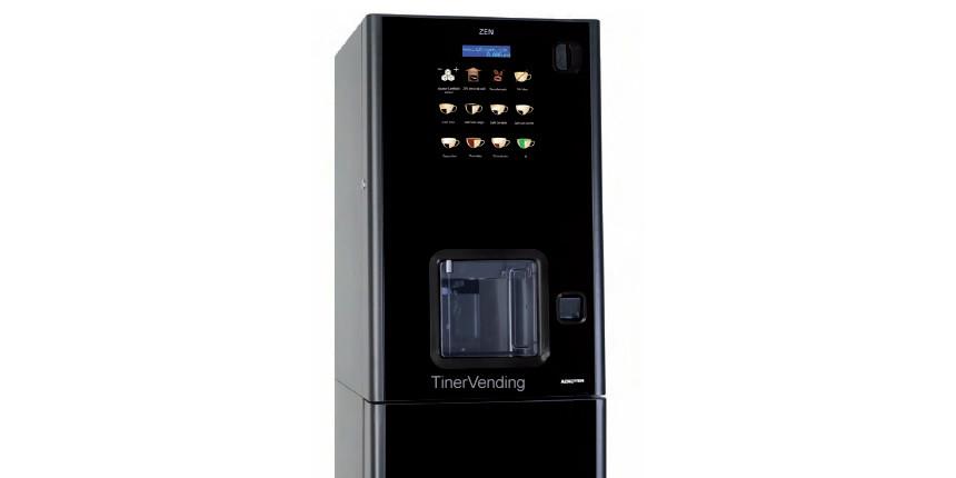 Máquina expendedora de bebidas calientes AZKOYEN modelo Zen