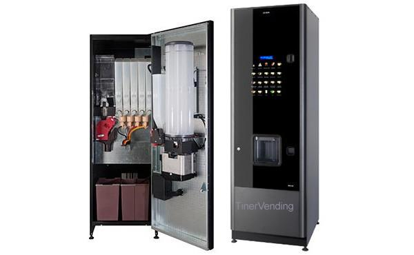 Máquina expendedora de bebidas calientes AZKOYEN modelo Zensia