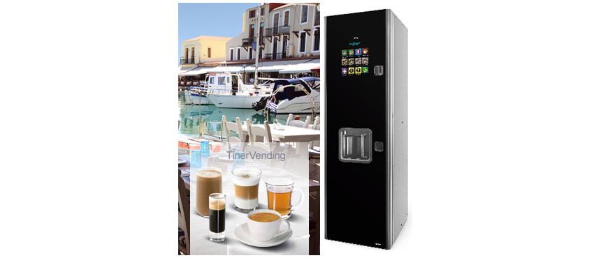 Máquina expendedora de bebidas calientes AZKOYEN modelo Zintro