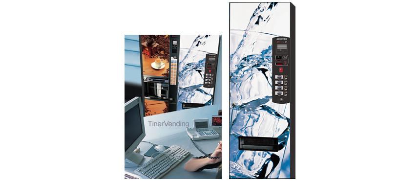 Máquina expendedora de bebidas frías AZKOYEN modelo Office