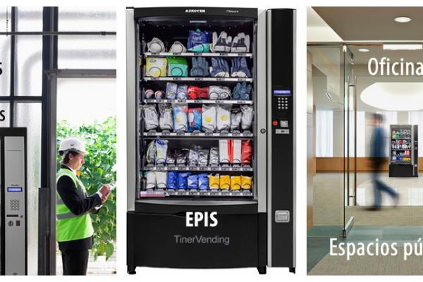 Máquina expendedora de productos AZKOYEN modelo Mistral EPIS