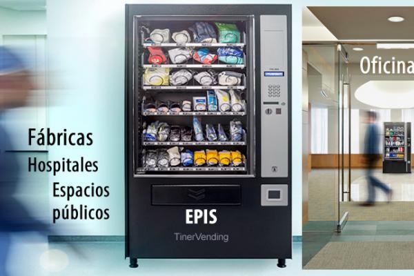 Máquina expendedora de productos AZKOYEN modelo Palma EPIS