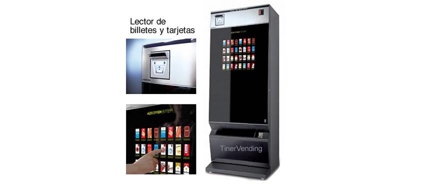 Máquina expendedora de tabaco AZKOYEN modelo Step