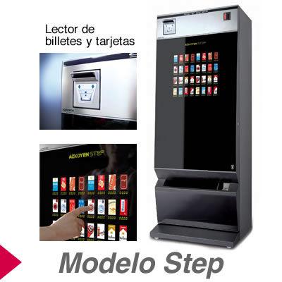 Máquinas Expendedoras de Tabaco modelo Step