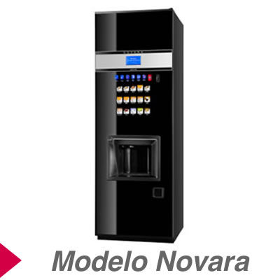 Máquinas Expendedoras de bebidas calientes modelo Novara
