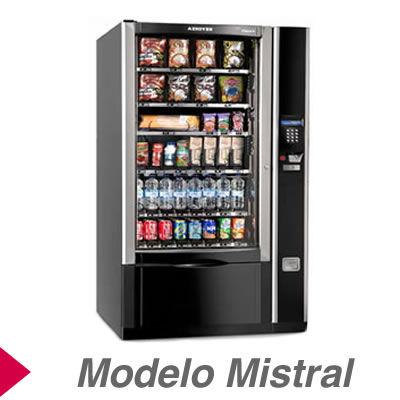 Máquinas Expendedoras de productos modelo Mistral